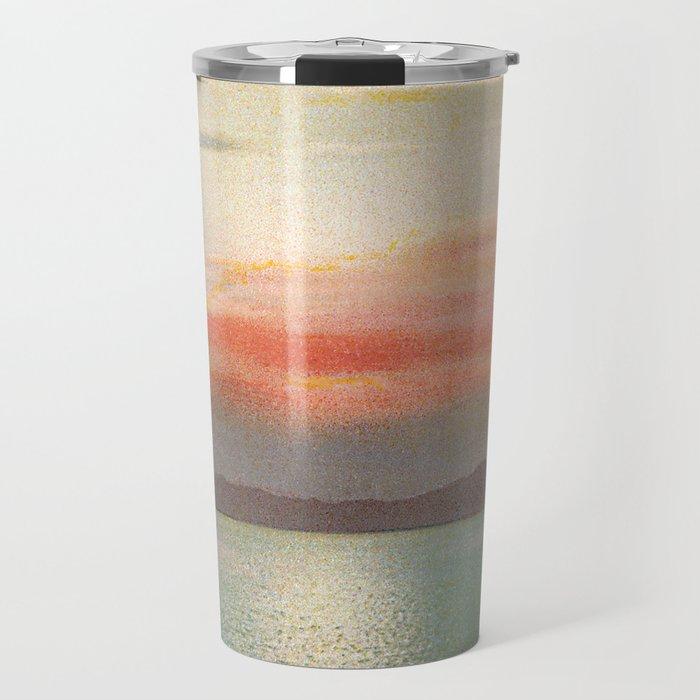Sunset Salt Lake Travel Mug