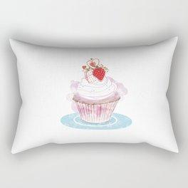 Strawberry Cupcake  Rectangular Pillow