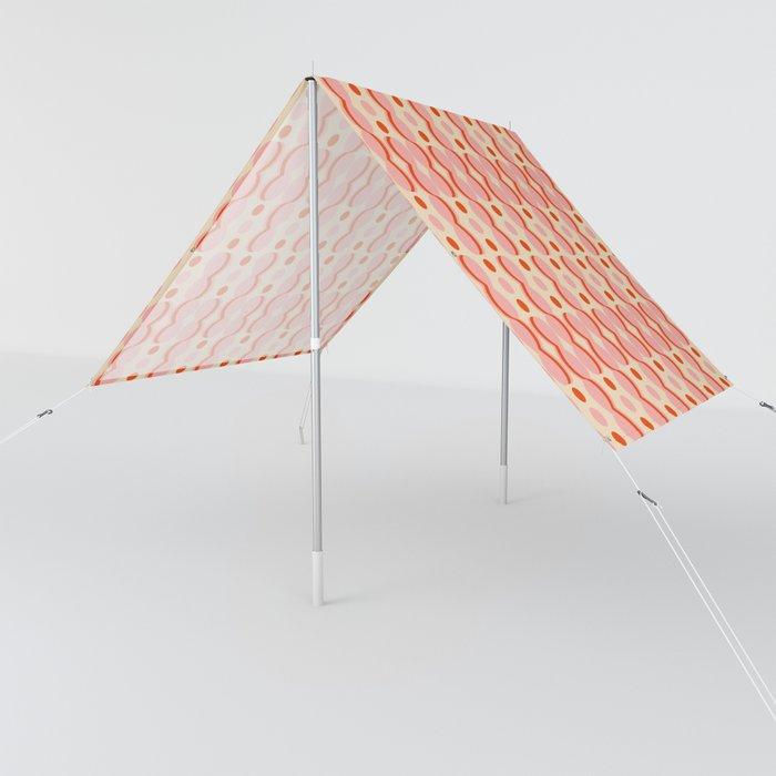 Uende Love - Geometric and bold retro shapes Sun Shade