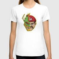 mario kart T-shirts featuring Mario Chimera by The Cracked Dispensary