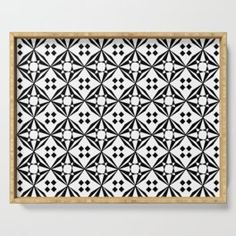 optical pattern 61 Serving Tray