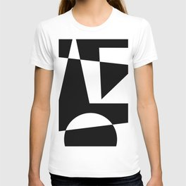 Black & White Abstract I T-shirt