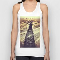 shadow Tank Tops featuring Shadow by Jessica Morelli