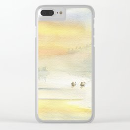 When The Fog Clears Clear iPhone Case