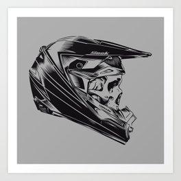 Skullrider Art Print