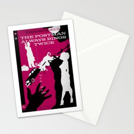 Hardboiled :: The Postman Always Rings Twice :: James M. Cain Stationery Cards