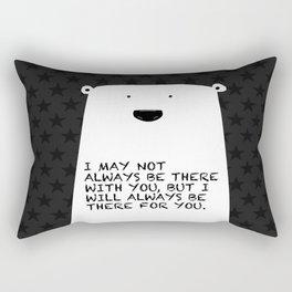 Polar bear stars Rectangular Pillow