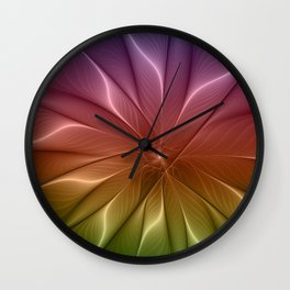 The Life of Colors Wall Clock