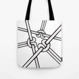 knots tied Tote Bag