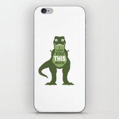 Amourosaurus iPhone & iPod Skin