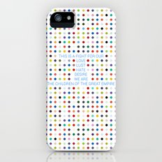 Thirty Seconds To Mars ; Conquistador Slim Case iPhone (5, 5s)