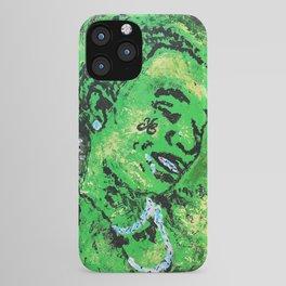 thug,so much fun,album art,cover,green,music,hiphop,rap,decor,wall art,gangsta,cool,dope,poster iPhone Case