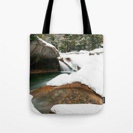 Lonesome Lake Trail Tote Bag