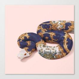 BAROQUE SNAKE Canvas Print