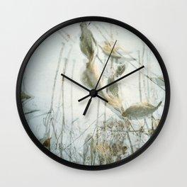 Milk Weed Wall Clock