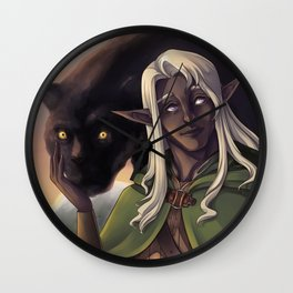 Drizzt Do'Urden Wall Clock