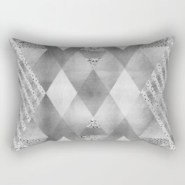 ETHNO Elegance in silver Rectangular Pillow