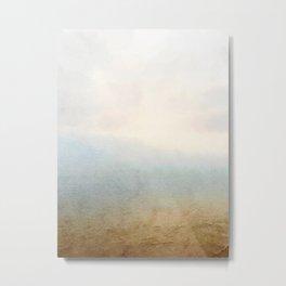 Where the sky meets the sea Metal Print