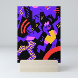 Crazydance Mini Art Print