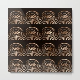 The Eyes of Manon Metal Print
