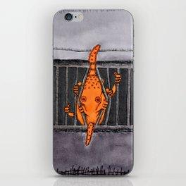 Breakout Octopus iPhone Skin