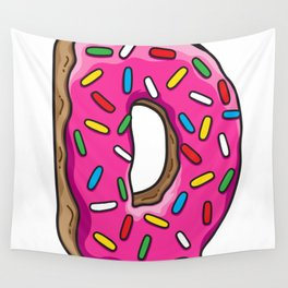 D is for Donut Wall Tapestry