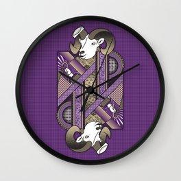 Ram Card. Wall Clock