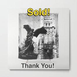 Archangel Michael Shower Curtain, SOLD! Metal Print