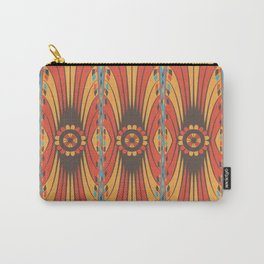 Geometric extravaganza pattern Carry-All Pouch