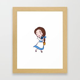 CUTE BELLE Framed Art Print