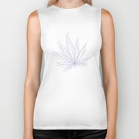 weed Biker Tanks featuring weed by Estelle F