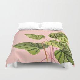 Upstart / Tropical Plant Duvet Cover