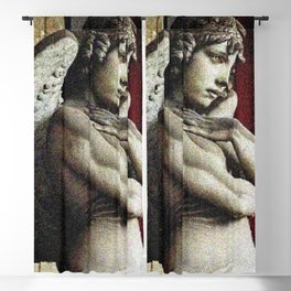 The Oneto Families' Angel of the Resurrection Portrait by Jeanpaul Ferro Blackout Curtain