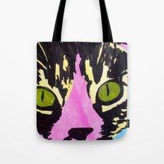 Pop Art Cat No. 1 Tote Bag