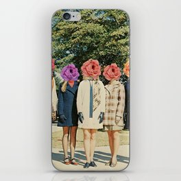 flower power iPhone Skin