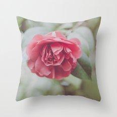 Rose Tree Throw Pillow