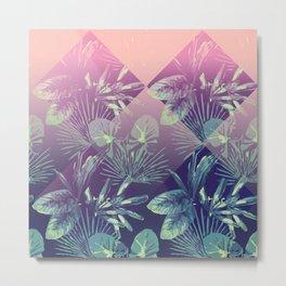 Jungle Sunset Metal Print