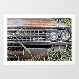 Car Jungle Art Print
