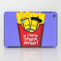 fries iPad Cases featuring French Fries by Kleviee