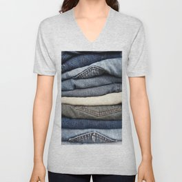 Jeans Unisex V-Neck