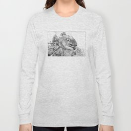 This Trout Means Business Long Sleeve T-shirt