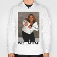 wiz khalifa Hoodies featuring Wiz Latifah by 6triangles