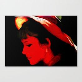 Profile Victoriana Canvas Print