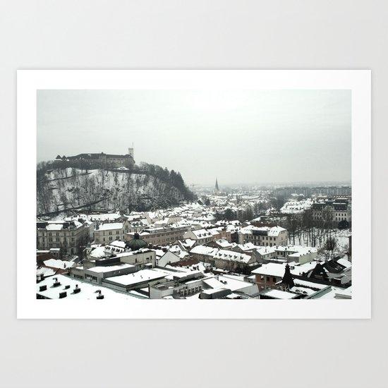 Ljubljana Slovenia Art Print