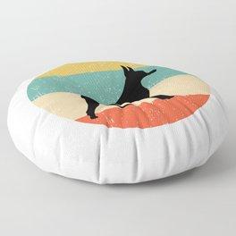 Doberman Pinscher Dog Gift design Floor Pillow