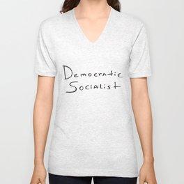 Democratic Socialist Unisex V-Neck