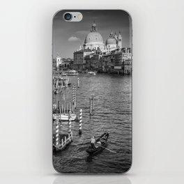 VENICE Canal Grande & Santa Maria della Salute | Monochrome iPhone Skin