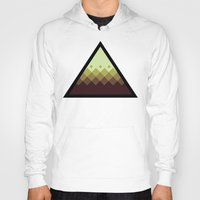 pyramid Hoodies featuring Pyramid by Jandris Illustration