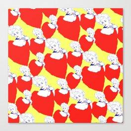 Stone Cold Fox - 'She Shoulda Said No' Poster Pattern Canvas Print