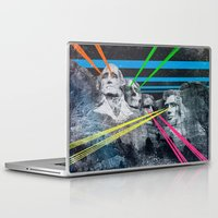 rushmore Laptop & iPad Skins featuring Mt Rushmore, Yo by Dan Howard